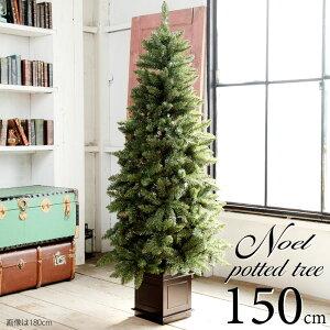 クリスマスツリー150cmクラシックタイプ高級クリスマスツリーポットツリーヌード(オーナメントなし)タイプ【150cm】(クリスマスツリーおしゃれクリスマスツリーヌードツリー北欧)予約