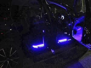 ヘッドライトledアイラインシリコンチューブRGBタイプ30cm×2本リモコン付直販部crd