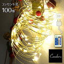 ジュエリーライト LED イルミネーション コンセント式 ワイヤータイプ クリスマスツリ...