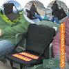 レジャークッションヒーター付ヒートクッション1枚売りレジャーチェア温熱シート腰痛クッションアウトドアチェア軽量折りたたみ椅子ポータブルコンパクトキャンプヒートスタジアムクッション
