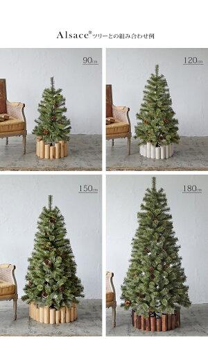 クリスマスツリースタンドカバーログフェンスウッドフェンス丸太90cm鉢カバーツリーベースカバーコンパクト収納クリスマスツリーナチュラル北欧かわいいおしゃれツリースカートシンプルクリスマス飾り樅ChristmasXmastree