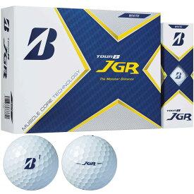 【まとめ割クーポン7〜9%OFF】 ブリヂストン Bridgestone TOUR B JGR ゴルフボール 1ダース ゴルフ用品 マッスルコア 高初速 適応ヘッドスピード 35-45m/s 送料無料