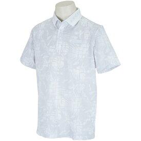 プーマ PUMA EGW ボタニカル シアサッカー 半袖ポロシャツ メンズ ゴルフウェア 春 夏