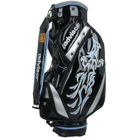 アドバイザー ADVISOR キャディバッグ(龍) 9型 47インチ対応 メンズ ゴルフ ゴルフバッグ ゴルフ用品 バッグ 男女兼用 即納 あす楽 送料無料