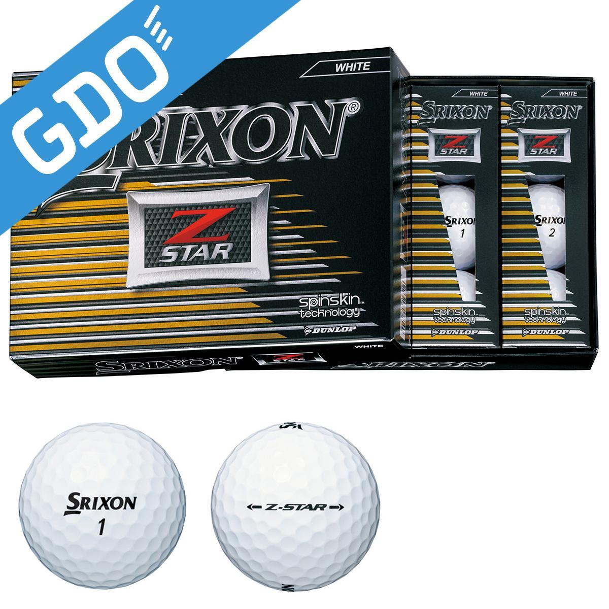 ダンロップ SRIXON Z-STAR ボール[ゴルフ用品 GOLF GDO ボール ゴルフボール プレゼント ギフト 通販 楽天]