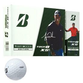 【まとめ割クーポン7〜9%OFF】 ブリヂストン TOUR B TOUR B XS Tiger Woods 2020 Edition ボール