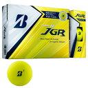 ブリヂストン BRIDGESTONE ツアーB TOUR B JGR ゴルフボール 1ダース MATTE YELLOW EDITION スポーツ ゴルフ用品