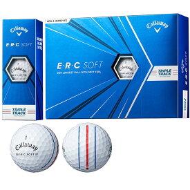 キャロウェイゴルフ callaway golf ゴルフボール 1ダース E・R・C ERC SOFT 21 TRIPLE TRACK ソフト21 トリプルトラック
