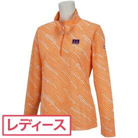マンシングウェア Munsingwear SUNSCREENジップアップ長袖シャツ ゴルフウェア レディース 春 夏 2021年春夏モデル レディス