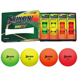 ダンロップ SRIXON スリクソン TRI-STAR 3 BRITE ボール