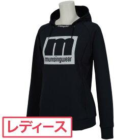 マンシングウェア Munsingwear mロゴパーカー レディス