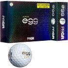 送料無料 プロギア egg NEW SUPER エッグ ゴルフボール 1ダース スポーツ ゴルフ用品【ルール非適合】