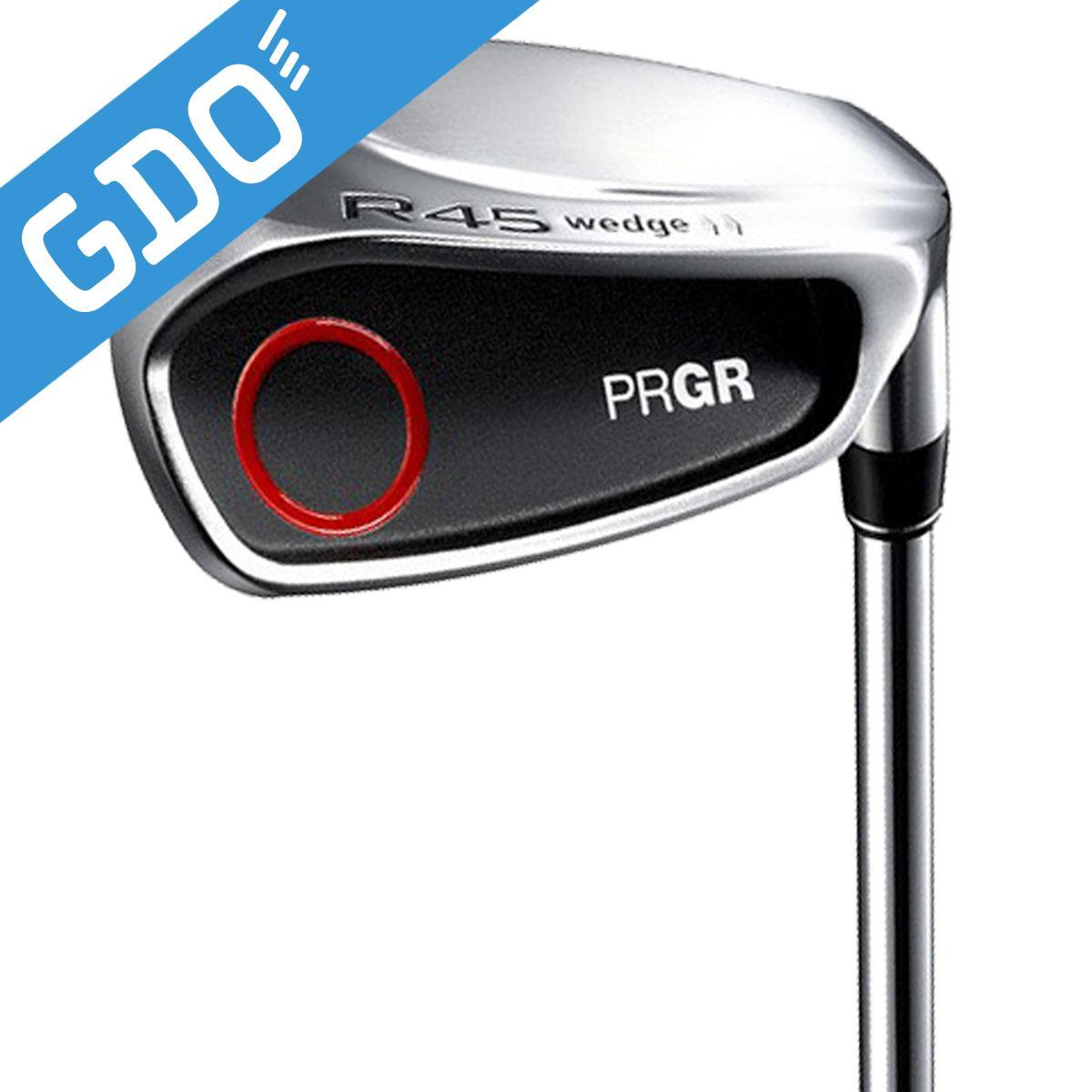 プロギア PRGR NEW R-45 ウェッジ R-45ウェッジオリジナルスチール シャフト:R-45ウェッジオリジナルスチールシャフト[ゴルフ用品 GOLF GDO ゴルフクラブ クラブ メンズ 男性用 ウェッジ ウエッジ]