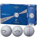 キャロウェイゴルフ E・R・C ERC SOFT 19 TRIPLE TRACK ゴルフボール[キャロウエイ callaway クロム chome グラフェン まとめ買い ついで買い 即納 あす楽]