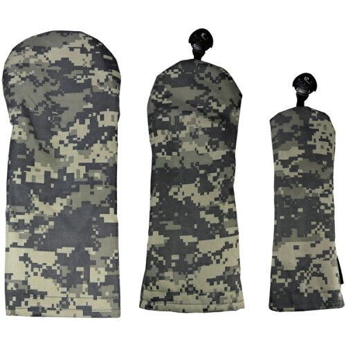 AZROFアズロフカラー限定スタイルヘッドカバー(DR用×1+FW用×1+UT用×1)3点セット