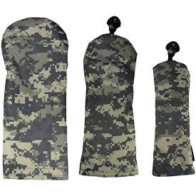 AZROF アズロフ カラー限定 スタイルヘッドカバー(DR用×1+FW用×1+UT用×1)3点セット