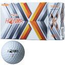 【10/27までまとめ割クーポン最大9%OFF】 本間ゴルフ TOUR WORLD TW-X ゴルフボール 1ダース HONMA ツアーワールド  …