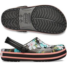 クロックス crocs クロックバンドTM シーズナル グラフィック クロッグ[ゴルフ シューズ サンダル 靴 メンズ 即納 あす楽]