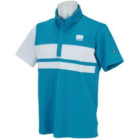 マンシングウェア Munsingwear ENVOY ストレッチパネルブロック半袖ポロシャツ