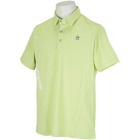 マンシングウェア Munsingwear ENVOY バックシャーン半袖ポロシャツ メンズ 2021年 春夏 クリアランス セール ゴルフウェア ゴルフ