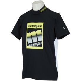 マンシングウェア Munsingwear ENVOY mロゴハイネック半袖シャツ メンズ ゴルフウェア 春 夏