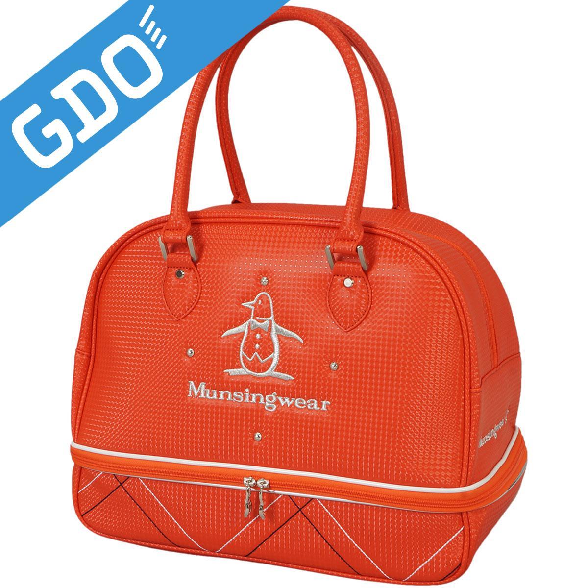 マンシングウェア Munsingwear ボストンバッグ LQ2178 レディス[ゴルフ用品 GOLF GDO レディース 女性用 ボストン ボストンバック レディースボストンバック バッグ バック ゴルフバッグ ゴルフボストンバック]