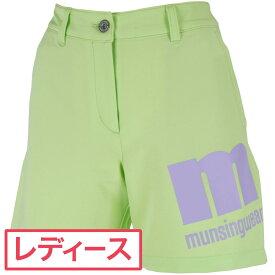 マンシングウェア Munsingwear ストレッチショートパンツ ゴルフウェア レディース 春 夏 レディス