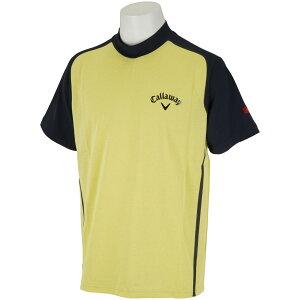 キャロウェイゴルフ CALLAWAY RED LABEL 半袖ハイネックシャツ メンズ ゴルフウェア 春 夏