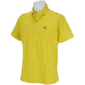 マンシングウェア Munsingwear オーガニックコットンカモフラージュ半袖ポロシャツ メンズ ゴルフウェア 春 夏