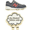 ニューバランス New Balance METRO POP柄シューズクリップマーカー[ゴルフ用品 GOLF GDO マーカー ゴルフ 人気 おし…