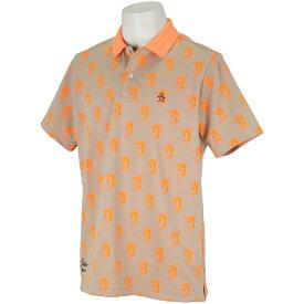 マンシングウェア Munsingwear レダニアコラボ半袖ポロシャツ メンズ ゴルフウェア 春 夏