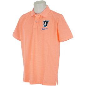 マンシングウェア Munsingwear レダニアコラボワッペン半袖ポロシャツ メンズ ゴルフウェア 春 夏