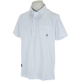 マンシングウェア Munsingwear 鹿の子テーラード半袖ポロシャツ メンズ ゴルフウェア 春 夏
