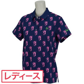 マンシングウェア Munsingwear レダニアコラボ半袖ポロシャツ レディス