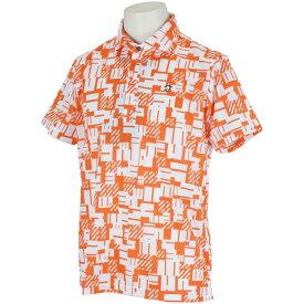 マンシングウェア Munsingwear ENVOY SUNSCREENロゴプリント半袖ポロシャツ メンズ ゴルフウェア 春 夏