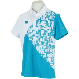 マンシングウェア Munsingwear ENVOY SUNSCREENカラーブロック半袖ポロシャツ