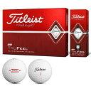 タイトリスト TITLEIST TRUFEEL ゴルフボール 1ダース スポーツ ゴルフ用品