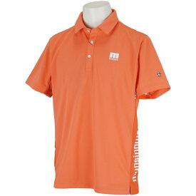 マンシングウェア Munsingwear ENVOY SUNSCREEN両脇ロゴプリント半袖ポロシャツ