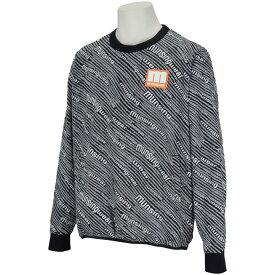 マンシングウェア Munsingwear ENVOY 360°ストレッチロゴプリントクルーネックブルゾン メンズ ゴルフウェア 春 夏