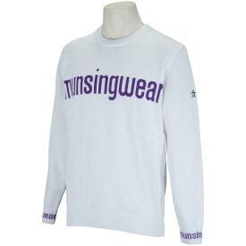 マンシングウェア Munsingwear ENVOY 胸ロゴクルーネックセーター メンズ ゴルフウェア 春 夏