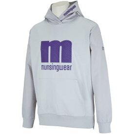 マンシングウェア Munsingwear ENVOY ハイブリッドmロゴフーデッドカットソー メンズ ゴルフウェア 春 夏