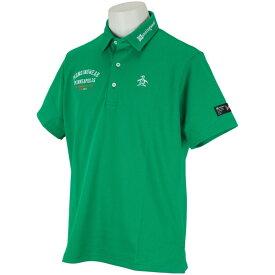 マンシングウェア Munsingwear SUNSCREEN鹿の子半袖ポロシャツ