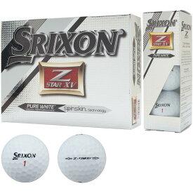 ダンロップ DUNLOP スリクソン SRIXON Z-STAR XV ボール 1ダース 2015年モデル USモデル