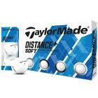 【まとめ割クーポン最大10%OFF】 テーラーメイド TaylorMade DISTANCE+ Distance+Soft ゴルフボール 1ダース スポーツ ゴルフ用品 ディスタンスプラス おすすめ 人気