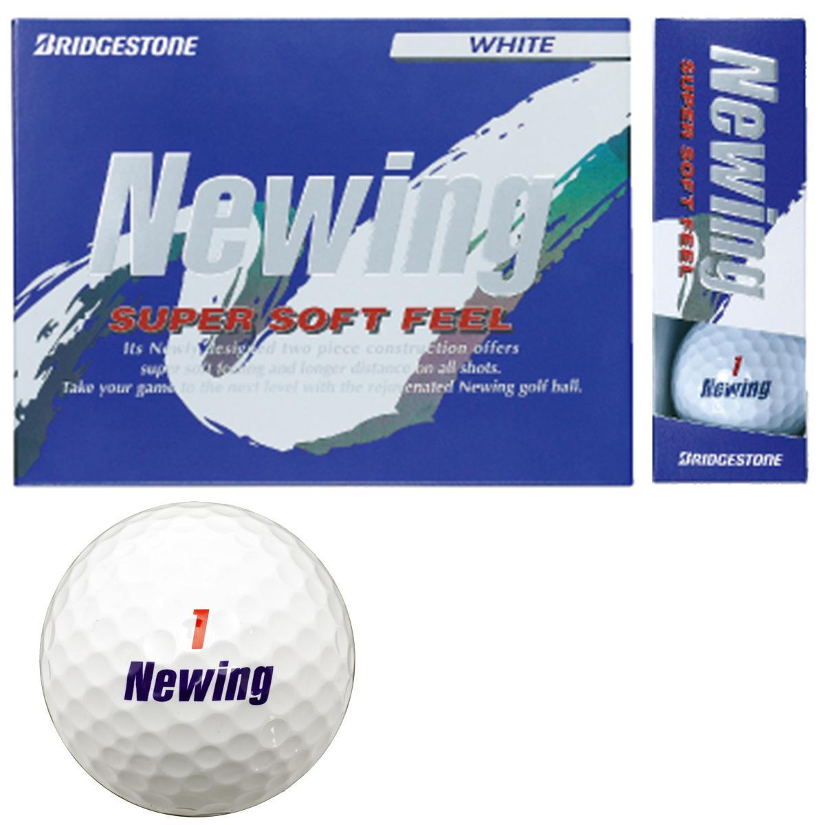 ブリヂストン NEWING ニューイング SUPER SOFT FEEL ボール [ブリジストン bridgestione まとめ買い ついで買い 即納 あす楽]