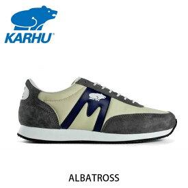 KARHU カルフ スニーカー ユニセックス ALBATROSS アルバトロス グレー×ダークネービー KH802505