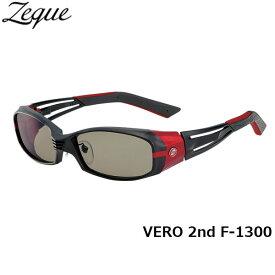 Zeque ゼクー ジールオプティクス ZEAL OPTICS 偏光サングラス VERO 2nd ヴェロセカンド F-1300 マットブラック×レッド トゥルービュースポーツ グレンフィールド GLE4580274162995 釣り フィッシング アウトドア メンズ レディース 偏光グラス 偏光レンズ