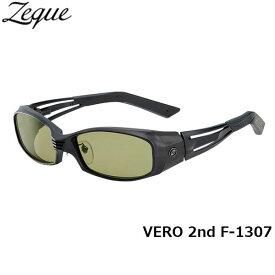 Zeque ゼクー ジールオプティクス ZEAL OPTICS 偏光サングラス VERO 2nd ヴェロセカンド F-1307 オールマットブラック イーズグリーン グレンフィールド GLE4580274163367 釣り フィッシング アウトドア メンズ レディース 偏光グラス 偏光レンズ