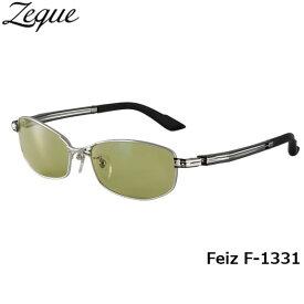ジールオプティクス ZEAL OPTICS 偏光サングラス Feiz フェイズ F-1331 マットクローム イーズグリーン グレンフィールド GLE4580274163473 釣り フィッシング アウトドア メンズ レディース 偏光グラス 偏光レンズ