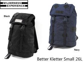 送料無料 ウィルダネスエクスペリエンス バックパック ベタークレッタースモール Better Series Better Kletter Small 26L WILDERNESS EXPERIENCE WIL046